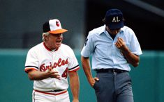 Earl Weaver makes his point