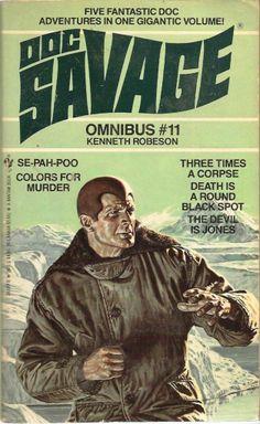 Doc Savage Omnibus 11