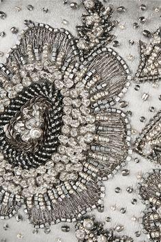 Oscar de la Renta embellished satin box clutch