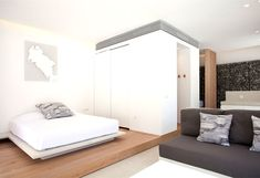 Relux Ios Hotel is a boutique hotel located on the beautiful island of Kos in Greece. Built in the it was recently renovated . Minimalist Architecture, Minimalist Design, Paradise Hotel, Greece Hotels, Island Pictures, Floor To Ceiling Windows, A Boutique, New Homes, Tropical