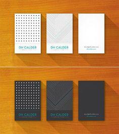 architect business card design