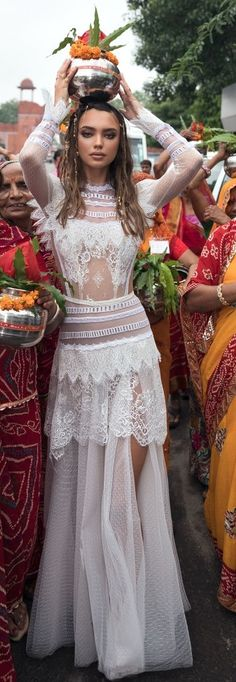 "Lior Charchy Wedding Dresses 2018 ""India Bridal Collection lior charchy India 2018 bridal long sleeves high neck full embellishment bohemian retro a-line wedding dress covered column dress : Lior Charchy 2018 Wedding Dresses Wedding Dresses 2018, Bohemian Wedding Dresses, Dress Wedding, Nontraditional Wedding Dresses, Indian Wedding Dresses, Bridesmaid Dresses, Wedding Bridesmaids, Wedding Ceremony, Wedding Venues"