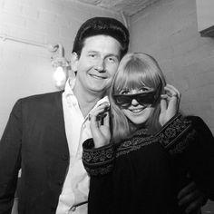 Roy Orbison with Marianne Faithfull, February 1965