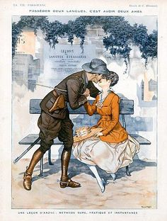 La Vie Parisienne, 1916 ~ Chéri Hérouard