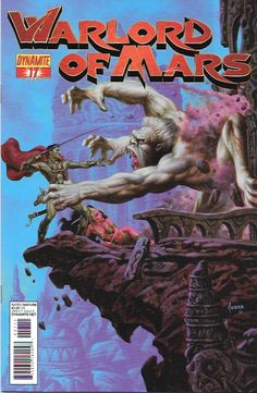 Warlord Of Mars # 17 Dynamite Entertainment