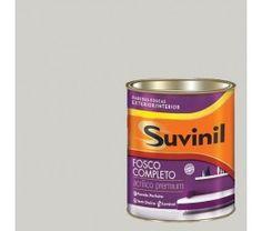 Tinta Acrilica Fosca Premium Suvinil Crômio 900Ml.