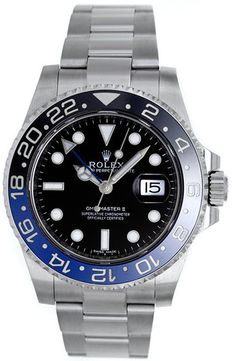 Rolex Gmt-Master II Blue & Black Bezel / Unworn 2014 Model