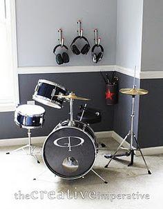 drum room colors