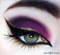 Purple Eyes Makeup 5 Purple Clothes For Girls