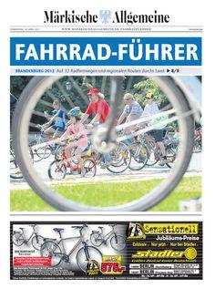 Fahrradsaison 2012 - Brandenburg radelt an » www.maerkischeallgemeine.de/fahrradfuehrer