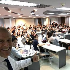 """""""How to Give a Great #Presentation"""" .... Great memory of teaching MIM students at Thammasat University"""