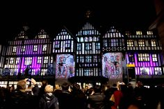 Projection Advertising creates video mapping for Fisher Productions' Liberty 'Xmas launch'