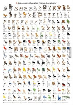 Illustrated History of Folding Chairs