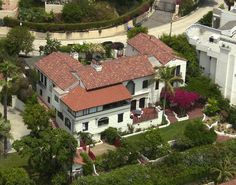 Heath Ledger (Hollywood).  Heath Ledger lived in this classy Hollywood home. june 01, 2002.