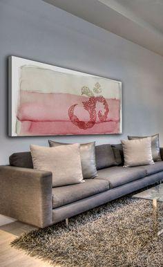 Ohm Canvas Wall Art - fancy