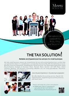 Tax solution