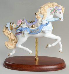 Lenox CAROUSEL ANIMALS FIGURINE 2000 Millenium Horse 942736