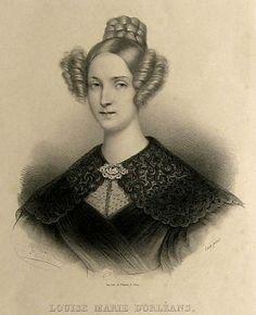 1830s Louise Marie d'Orléans, Reine des Belges