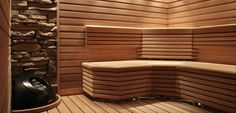 The sauna lifestyle. We make it easy to love sauna. Traditional Saunas, Traditional House, Traditional Decorating, Spa Design, House Design, Modern Saunas, Portable Steam Sauna, Wood Burning Heaters, Luxury Gym