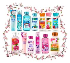 """""""bath and body works"""" by kiarahcarson ❤ liked on Polyvore featuring beauty"""