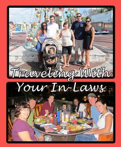 Traveling with your in-laws can be tricky. Use  this tips to make every traveling experience with them fun!
