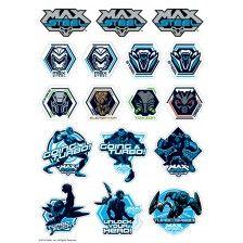 Max Steel Icon Sheet