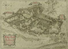 "hobbit house plans architect   the ""architectural plan"" for bag"