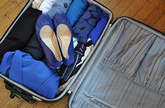 SmarterTravel Editor Caroline Costello recommends choosing a color palette when packing. We love this advice!