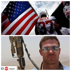 "#SeahawksSalute #Repost @espn. ・・・ While deployed with the National Guard, Nate Boyer taught himself to be a long snapper with YouTube videos. This Friday, he will be playing in a preseason game with the Seattle Seahawks. If he makes the opening day roster, he would be the team's oldest rookie ever. Catch #SCFeatured's ""The Long Shot"" today on @SportsCenter."