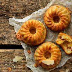 Banting Cheese Onion & Pancetta Bundt Cakes - GINJA Food & Lifestyle Magazine GINJA Food & Lifestyle Magazine