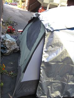 Insulating your tent.