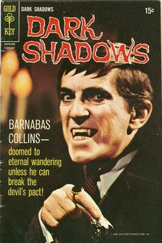 One of my all time favorite vampires! Barnabas Collins, Comic Book Covers, Comic Books, Dark Shadows Tv Show, Mejores Series Tv, Horror Comics, Old Tv Shows, Classic Tv, The Good Old Days