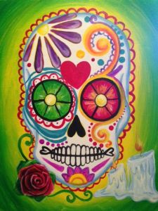 Day of the Dead @ Pinot's Palette The Woodlands