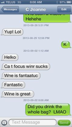 Text messages, funny