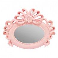 mini espelho rosa