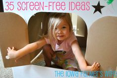 The Iowa Farmer's Wife: 35 Screen-Free Ideas