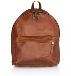 The Eastpak Padded Pak'r backpack is a classic, in production since the This luxe edition is made from cowhide leather that will age beautifully for a vintage look. The large main section has a quilted laptop compartment, and there's a second fr Cowhide Leather, Vintage Looks, Leather Backpack, Backpacks, Gift Ideas, Classic, Gifts, Bags, Style