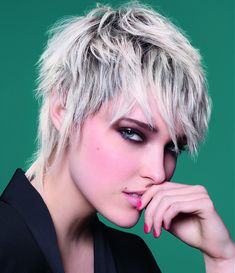 Camille Albane Short Blonde Hairstyles