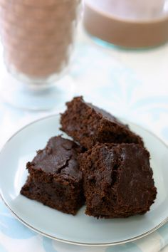 Gluten Free Vegan Brownies