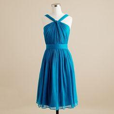 Matisse blue bridesmaid dress