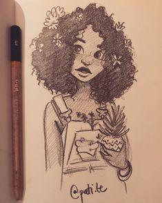 Art Sketches 29577 likes 68 times 9 comments Dibujos Pati Trigo (@ pati.te) o Girl Drawing Sketches, Cool Art Drawings, Pencil Art Drawings, Realistic Drawings, Beautiful Drawings, Cartoon Drawings, Indie Drawings, Arte Sketchbook, Cartoon Art Styles