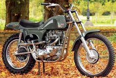 Steve McQueen's onetime bike of choice.