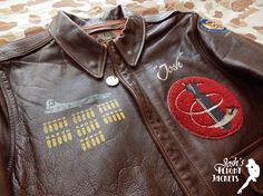 Leather Flight Jacket, Leather Jackets, Men's Leather, Vintage Leather, Nose Art, Jacket Style, Outdoor Gear, Pin Up, Bomber Jacket