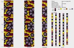 Узоры для вязаных жгутиков-шнуриков 12   biser.info - всё о бисере и бисерном творчестве