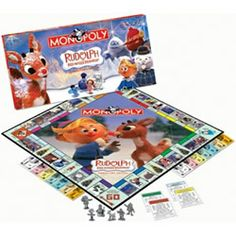 Rudolph Monopoly $40.00