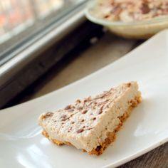 Healthy, Skinny Cookies and Bananas Foster Cream Pie [vegan]  150 calories per deep-dish slice