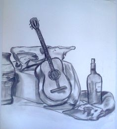 still life charcoal 2006