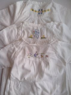 flannelette baby nightdresses - Google Search