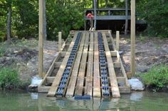 Dutton-Lainson Boat Trailer Deluxe Roller Bunk - 5 Long Sections - 12 Sets of 3 Rollers Dutton-Lainson Boat Trailer Parts Lake Dock, Boat Dock, Boat Trailer Parts, Floating Dock, Lakefront Property, Boat Lift, Boat Projects, Boat Stuff, Diy Desk