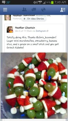 Cute & yummy Christmas appetizers. One of these days I'll throw a Christmas cocktail party!